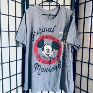 Disney Mickey Mouse graphic t-shirt adult Sz 2XL